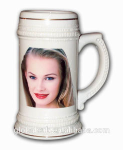 Personalized Custom Beer Mugs with Ceramic Material pictures & photos