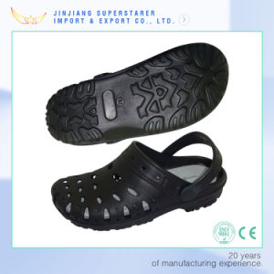 Summer Style EVA Foam Holey Soles Clogs with Breathable Design pictures & photos