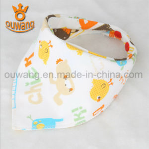 Wholesale Cheap Baby Bib Manufacturer New Arrival Cotton Bandana Baby Bib pictures & photos