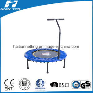 Mini Fitness Trampoline with Handlebar and Frame Pad pictures & photos