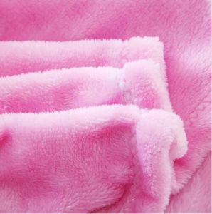 BSCI, Disney Audited Factory Flannel Fleece Mink Bedspread pictures & photos