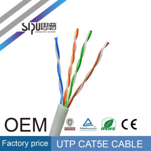 Sipu Wholesale Cat5e Network Cable Cat5 LAN Cable for Internet pictures & photos