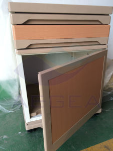 China Manufacturer Factory Price ABS Plastic Hospital Bedside Cabinet (AG-BC008) pictures & photos