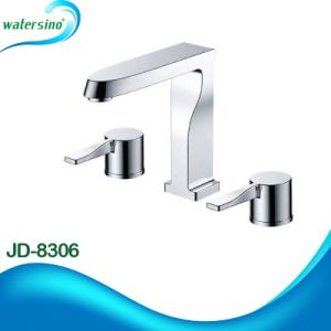 Hot and Cold Modern Brass Tap for Basin or Bathtub pictures & photos