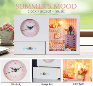 Hot Sale Wooden Clock Home Decor pictures & photos