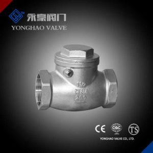 Stainless Steel CF8/CF8m Check Valve pictures & photos