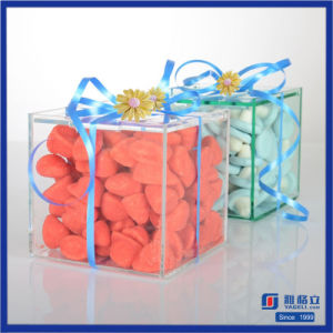 Waterproof Clear Acrylic Candy Box for Store pictures & photos