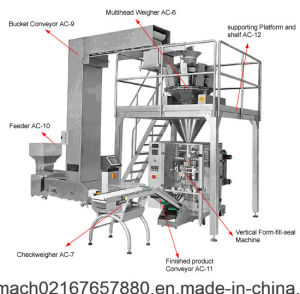 Rotary Snack Weighing Packing Unit (GDX-60) pictures & photos
