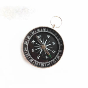 Promotion Gift Aluminum Alloy Outdoor Mini Compass pictures & photos