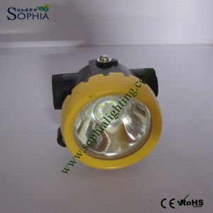 2.2ah Miners Safety Helmet Lamp LED Mining Cap Lights Lithium pictures & photos
