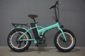 Hot Sale Folding Electric Bike with 4.0inch Fat Tyre Best Seller of Folding Ebike with High Quality pictures & photos