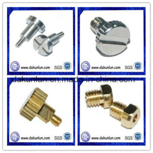 Round Head Knurled Screw / Slotted Round Head Screw (DKL-S001) pictures & photos