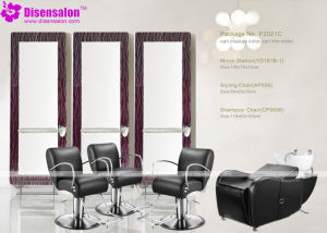 Popular High Quality Salon Furniture Mirror Barber Salon Chair (P2021E) pictures & photos
