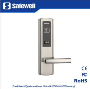 2mm 304 Stainless Steel Silver Color Hotel Door Lock pictures & photos