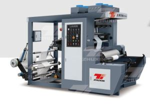 High Speed Two Color PE Film Flexo Printing Machine pictures & photos