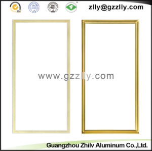 Golden Aluminium Profile Accessories TV Frame pictures & photos