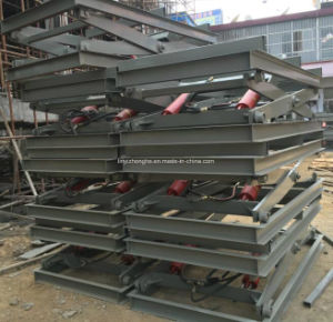 China Linyi Hydraulic Scissor Lifting Platform Table pictures & photos