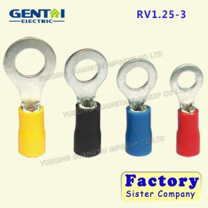 RV1.25-3 Insulated Ring Terminal for Copper pictures & photos