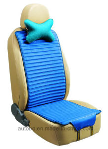 Linen and Velvet Car Seat Cover Double Sides Use-Blue pictures & photos