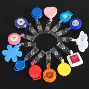 Cute Bright Color Cheap Badge Reel with Swivel Alligator pictures & photos