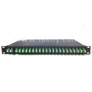 Fiber Optic 19 Inch Rackmount CWDM with SFP Module pictures & photos
