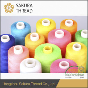 100% Spun Polyester Sewing Thread with Type 203, 402, 403, 602, 603 pictures & photos