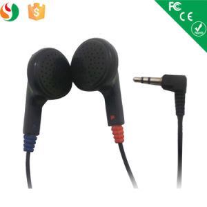 3.5mm Stereo Cheap Disposable Earphone for Airline pictures & photos