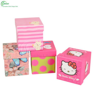 Customized Printing Square Gift Paper Boxes for Apple Packing (KG-PX077) pictures & photos