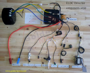 5kw BLDC Motor Electric Motorcycle Conversion Kit / Electric Boat Kit/Electric Car Kit pictures & photos
