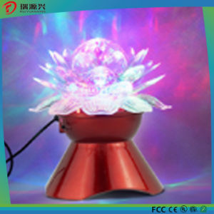 Mini Bluetooth Wireless Speaker with Crystal Lotus LED Light pictures & photos