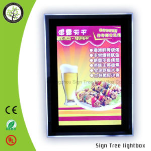 High Brightness Advertising Acrylic Slim Crystal Frame Light Box pictures & photos