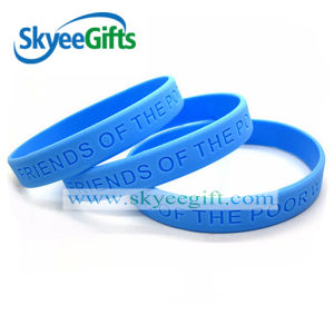 Solid Color Customized Silicone Bracelet pictures & photos
