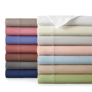 Luxury Hotel Microfiber Bed Linen in Cotton Solid Colors (DPF1071101) pictures & photos
