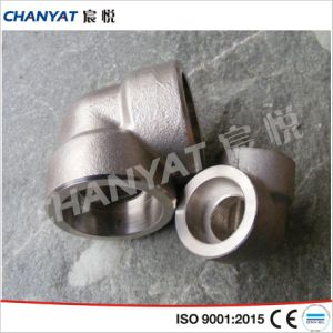 Nickel Alloy Screwed Fitting 45 Degree Elbow B515 Uns N08811, Incoloy 800ht pictures & photos