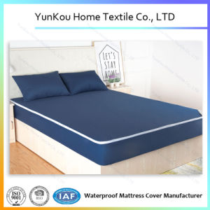 Multicolor Antiwrinkling Durable Knitting Mattress Encasement for Hotle and Home pictures & photos