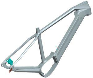 Carbon Front Suspended E-Bike Frame