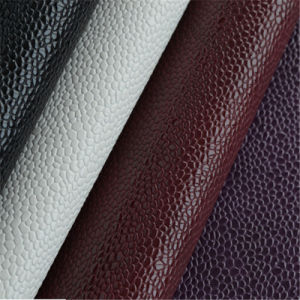 Anti-Abrasion Microfiber PU Leather for Car Seat, Shoes, Furniture Hw-6891 pictures & photos