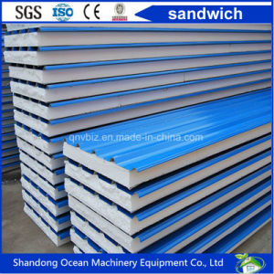 Lightweight Eco-Friendly Composite EPS Sandwich Wall Panel Rock Wool Panel pictures & photos