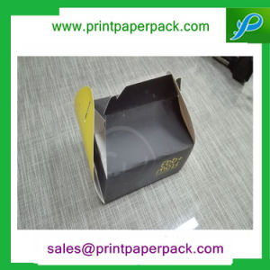 Custom Food Grade Carrier Lunch Package Boxes Kraft Paper Cupcake Box pictures & photos