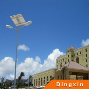 High Quality 20W-60W Solar LED Street Light with Double Arms pictures & photos