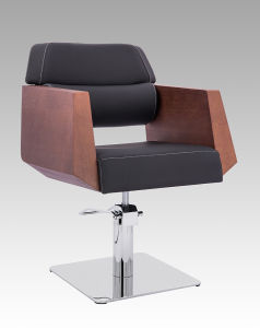 Solid Wood Armrest Hair Cutting Chair My-007-98 pictures & photos