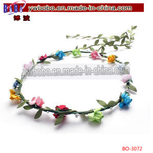 Pretty Artificial Flower Headband Hair Decoration Holiday Decoration (BO-3072) pictures & photos