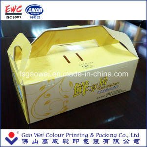 China Products Custom Printing Paper Folding Cake Box Packaging, Cake Paper Box Best Products, Gift Paper Box pictures & photos