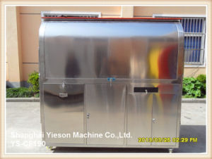 Ys-CF190 304 Stainless Steel Burger Stall Mobile Kiosk pictures & photos
