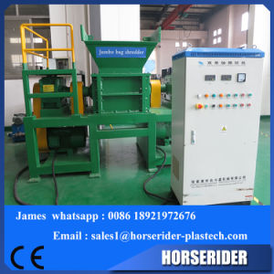 Two Single Shaft Shredder for Processing Waste Film pictures & photos