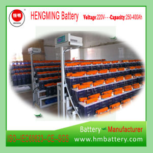 Gnz400 1.2V 400ah Medimum Discharge Rate Ni-CD Battery pictures & photos