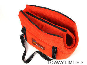 Soft Velvet Cotton Pet Outdoor Shoulder Carriers Dog Hand Bags pictures & photos