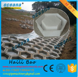 Plastic Precast Concrete Mold for Outdoor Paving Tiles with Plum Hexagonal Pattern pictures & photos