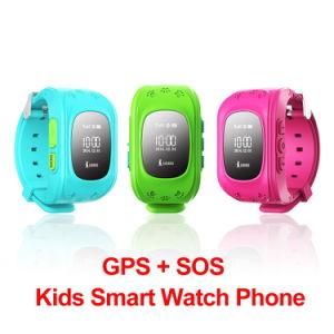 Children GPS Kids Smart Watch GSM GPRS GPS Locator Tracker pictures & photos