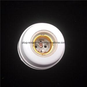 E27 up Bakelite Material Base Plastic Material Inside Porcelain Lampholder (L-115) pictures & photos